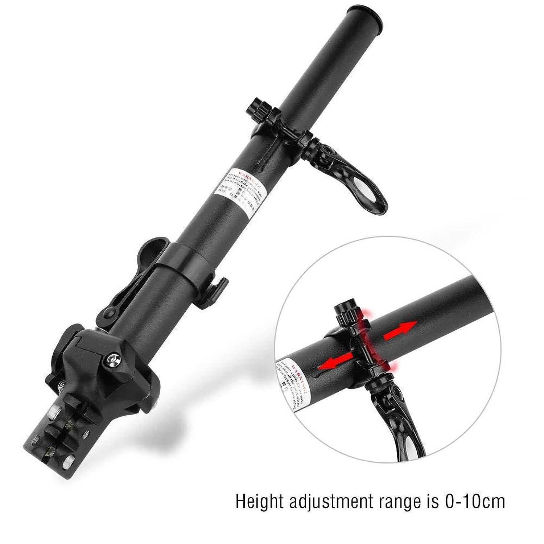 自転車ハンドル ライザーステム 伸縮可能 折りたたみ式 25.4mm/31.8mm 外径28.6mmに対応 自転車/電気自動車 調節可能 ハンドルバーステム アルミ合金