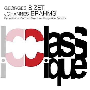 Bizet: L'arlésienne Suite No. 1, Op. 23bis & Brahms: Hungarian Dances, WoO 1
