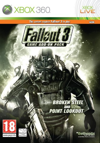 Fallout 3: Game Add-On Pack - Broken Steel and Point Lookout (Xbox 360) [Edizione: Regno Unito]