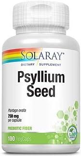 Solaray Psyllium Seeds Capsules, 600 mg | 100 Count