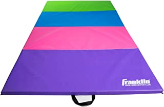 Franklin Sports Folding Mat – Tumbling Mat and Mat for Gymnastics – 4'x8' Gymnastics Mat for Home and Institutional Use – Durable Gym Mat for Cheer, Martial Arts, Yoga, and Exercise