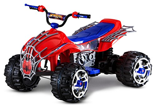 Product Image of the Kid Trax Spiderman Battery-Powered ATV