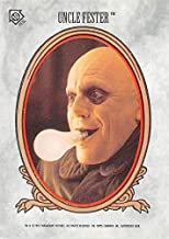 Christopher Lloyd trading card sticker Uncle Fester Addams Family Movie Topps 1991#10