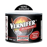 Antiruggine Arexons Vernifer alta temperatura ml.250 nero satinato [AREXONS]