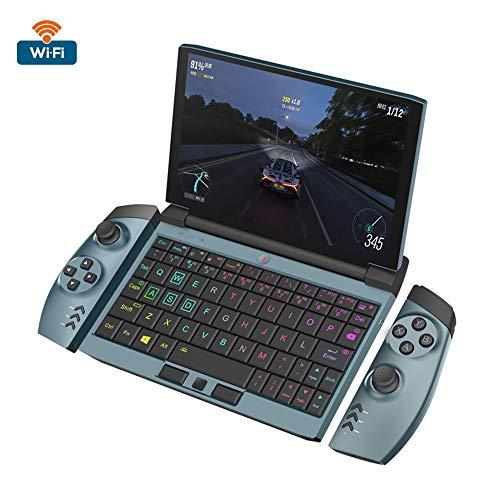 SUIBIAN One Netbook Laptops, One Gx1 portátil de 7 Pulgadas Juego Libro i5 décima generación 1920x1080 IPS Dual Screen Turbo Cooling RGB Teclado Desmontable Mango,16G WiFi