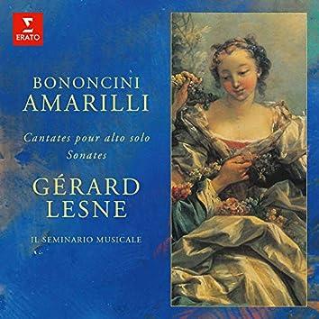 Amarilli: Sonates et cantates pour alto seul de Bononcini