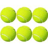 Tennisbälle Sport Training Tennis für Wurfmaschinen und Haustierspiele, 6 Stück