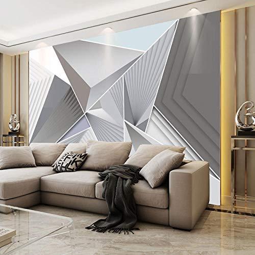 RTYUIHN 3D Tapete Wandbild einfaches Wohnzimmer nordischen Stil geometrischen Muster Linie Grafiken Schlafzimmer Wohnzimmer Moderne Wandkunst Dekoration