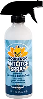 All Natural Anti Itch Oatmeal Spray Or Shampoo for Dogs and Cats | Hypoallergenic Soothing Relief for Dry, Itchy, Bitten or Allergy Damaged Skin | Hot Spot Treatment | Vet and Pet Approved