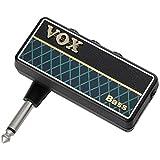 VOX(ヴォックス) ヘッドフォン ベースアンプ amPlug2 Bass ケーブル不要 ベースに直接プラグ・イン 自宅練習に最適 電池駆動 リズムパターン内蔵