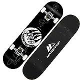 WHOJS Profi Skateboard Komplett Board 31 Zoll