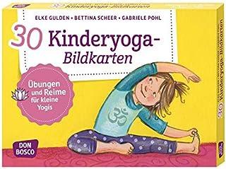30 Kinderyoga-Bildkarten: Übungen und Reime für kleine Yog