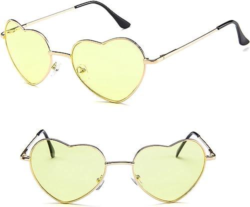 new arrival Heart online Sunglasses lowest Metal Frame Lovely Aviator Style Eyewear Heart Shaped UV Protection Sun Glasses online