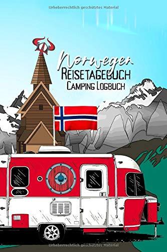 Norwegen Reisetagebuch Camping Logbuch: Wohnmobil Logbuch | Caravan Logbuch | Wohnmobilreise | Reisemobil Tagebuch | Reise & Camping Notizbuch | A5 | 144 Seiten