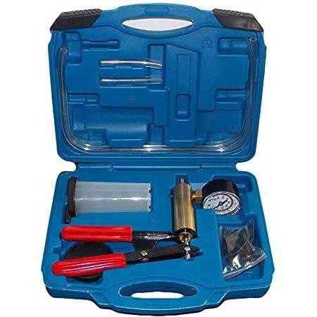 Slpro Bremsenentlüfter Bremsenentlüftungsgerät Vakuum Vakuumpumpe Vakuumtester Set Anzeige Bis 760 Mm Hg Auto