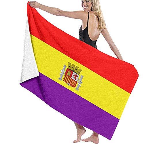 Beyond Loser Segunda Bandera De La República Española Piscina De Microfibra Toalla De Playa Manta Toalla De Baño De Secado Rápido Toallas De Surf,130X80 CM