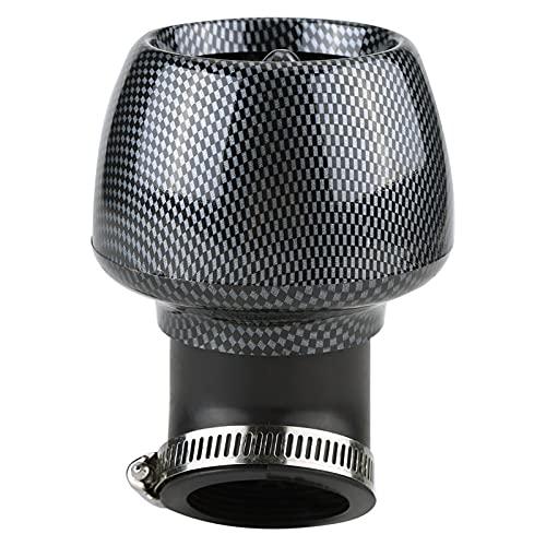 Filtro de aire para motocicleta, filtro de motocicleta para un uso fácil Filtro de aire universal universal Filtro de aire ampliamente utilizado para accesorios de automóvil(Los 48MM)