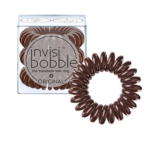 invisibobble Original Traceless Spiral Hair Ties With Strong Grip, Non-Soaking, Hair...