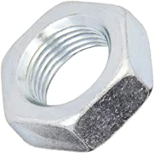 Steel Hex Jam Nut, Zinc Plated Finish, Grade 2, ASME B18.2.2, 9/16