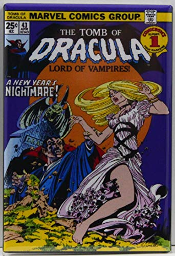 Tomb of Dracula #43 Comic Book Cover Refrigerator Magnet.