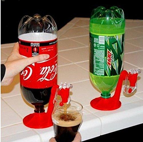 Frmarche Upside Down Trinkbrunnen Cola auf der Rückseite für Trinken Getränkespender Küche Bar Empfang Party Drink Werkzeug