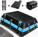 ETE ETMATE Auto Dachbox Autodachtasche 20 Kubikfuß Dachfrachttaschen wasserdichte große Dachgepäckaufbewahrungsbox Reise für Autos, Lieferwagen, SUVs mit Dachgepäckträger / Schienen / Stangen