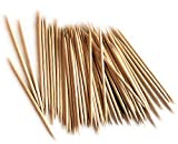 100% Natural White Birch Wooden Toothpicks For Best Oral Care - Keep Your Teeth Clean At All Times - For Arts & Crafts Or Parties - 800 Premium Quality Biodegradable Toothpicks by West Products