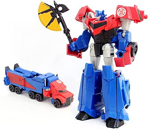 Nani?Wear Transformērs Toys Transformer Toys Robots en Disfraz Warrior Clase Optimus Prime Figura de acción Regalo para niños Juguete Educativo para niños niños y niñas o como