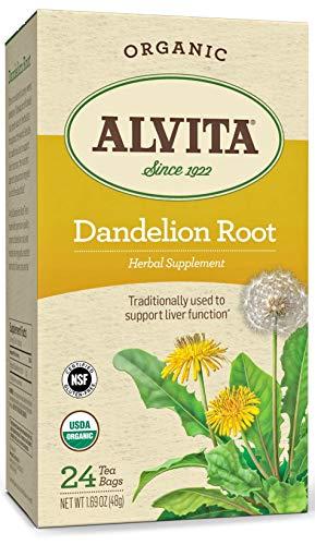 Alvita Tea Bags, Dandelion Root, Caffeine Free, 24 Tea Bags