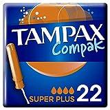 Tampax Tampons avec Applicateur Super Plus, 22 tampons