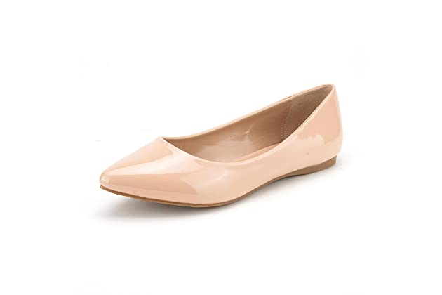 860d90d41f91 DREAM PAIRS Sole Classic Fancy Women's Casual Pointed Toe Ballet Comfort  Soft Slip On Flats Shoes