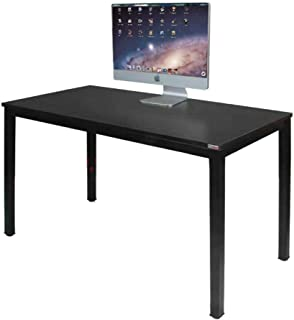 Need Computer Desk 47 inches Computer Table with BIFMA Certification Sturdy Office Desk Writing Desk, Black Brown AC3CB-120