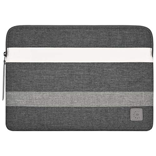 Comfyable Slim Laptop Sleeve 13-13.3 Inch Compatible for 13 Inch MacBook Pro & MacBook Air, Protective Computer Bag Waterproof Notebook Cover Case for Mac, Grey