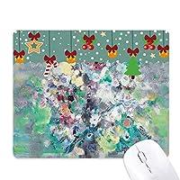 春の油絵の芸術の静かな生命の花 ゲーム用スライドゴムのマウスパッドクリスマス