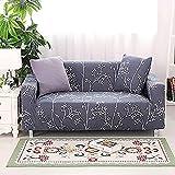 hd-3 Fundas de Flores Funda de sofá Funda de sofá de Sala de Estar Funda de sofá elástica de algodón Puro Funda de protección de Muebles A2 2 plazas