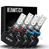 beamtech h11/h8/h9+9005/hb3 led bulb,50w 6500k extremely bright csp chips conversion kit combo all in one plug n play replacement low fog light