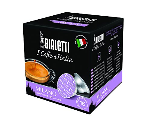 Bialetti Espressokapseln Milano, 64 Kapseln (4 Packungen für 16 Kapseln)