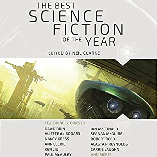 The Best Science Fiction of the Year: Volume One cover art