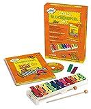 Hage Musikverlag Lillis Kit de découverte de la musique avec xylophone Sonor de haute qualité Livret et CD inclus (langue française non garantie)