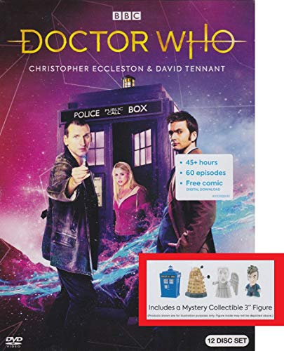 Doctor Who - The Ninth and Tenth Doctors with Collectible Figure