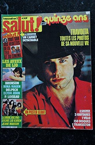 Salut ! 132 1980 TRAVOLTA LIO BRONSON NINA HAGEN DELPECH