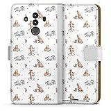 DeinDesign Étui Compatible avec Huawei Mate 10 Pro Étui Folio Étui magnétique Winnie l'ourson...