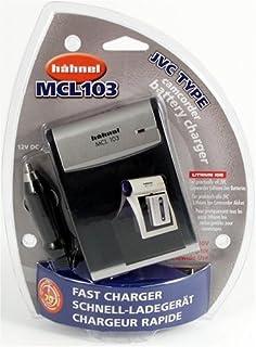 Hähnel litiumjon laddare MCL 103 för JVC Li-Ion batteri med 12 V bilkabel
