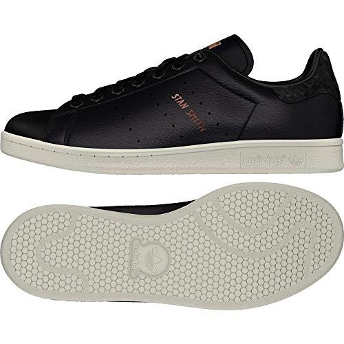 adidas Damen Stan Smith W Fitnessschuhe, Schwarz (Negbas/Negbas/Cobmet 000), 41 1/3 EU