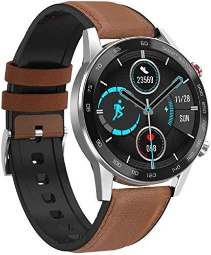 ZHENAO Pantalla de Color Smart Watch Ip68 Apoyo a Prueba de Agua Ciclo Femenino/Monitoreo de la Presión Arterial de Frecuencia Cardíaca/Recordatorio Sedentario/Monitoreo Del S