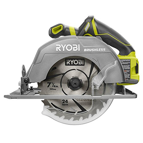 Ryobi 18-Volt ONE+ Cordless Brushless 7-1/4 in. Circular Saw (Tool Only)(Bulk Packaged, Non-Retail Packaging)