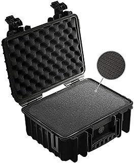 B&W Outdoor Case twarda walizka typ 3000 z pianką (twarda walizka IP67, pianka SI, wodoszczelna, wymiary wewnętrzne 33 x 2...