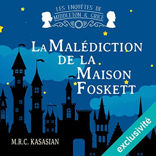 La malédiction de la maison Foskett audiobook cover art