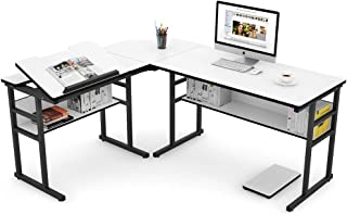 Auag Modern L Shaped Home Office Desk