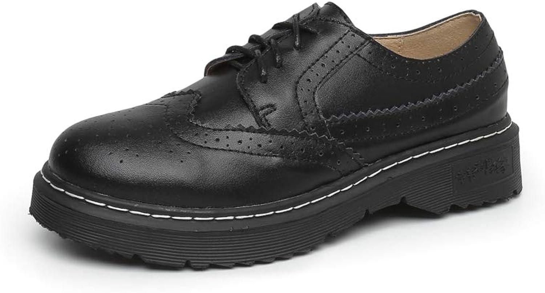 LL STUDIO Womens' Retro Brogue Oxford shoes